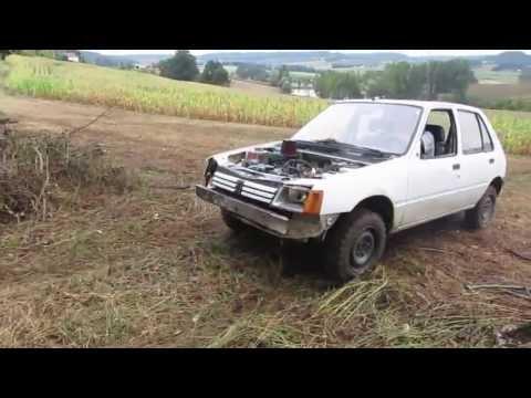 Peugeot 205 Offroad - Pneus Malatesta Kobra Trac