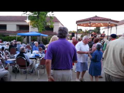 Laguna Woods Village patio concert