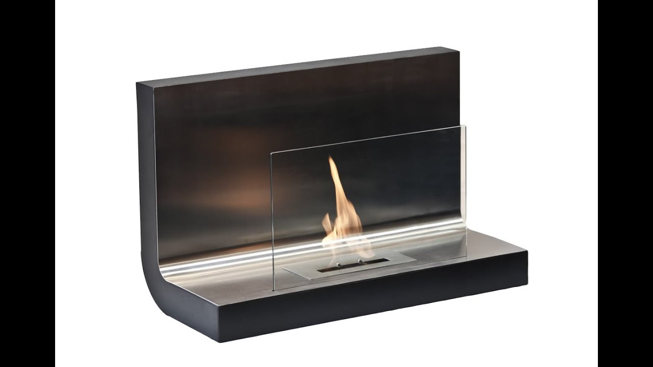 Nu-Flame Cannello Wall Mounted Ethanol Fireplace