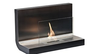 Ferrum - Wall Mounted Ethanol Fireplace By Ignis