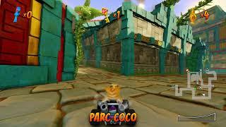 Lets play crash team racing nitro fueled 1