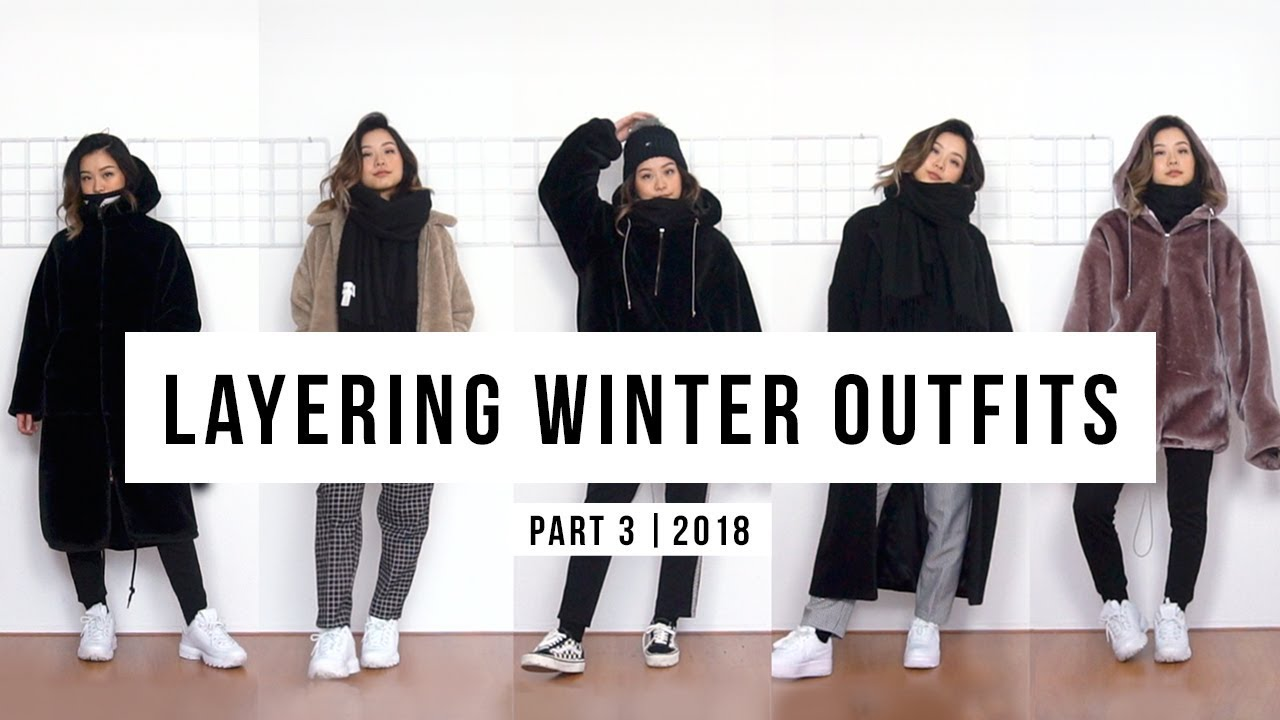 Layering Winter Outfits (pt  3) | clothesnbits