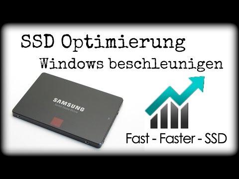 SSD OPTIMIERUNG - WINDOWS BESCHLEUNIGEN | PC TROTZ SSD LANGSAM