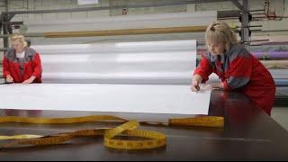 Производство натяжных потолков. СтеклоДом.(, 2015-11-19T04:50:17.000Z)
