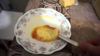 Еда Человека: жареный сыр