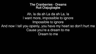 Ruti Olajugbagbe - Dreams Lyrics (The Cranberries) The Voice UK