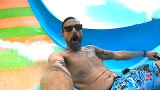 A Super Busy, Fun Day At Aquatica Water Park! | Finally Riding The New Slide & Summertime Tips!
