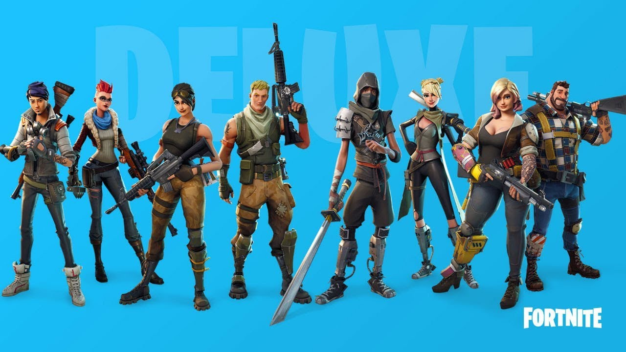 how do you change characters fortnite - pictures of characters in fortnite