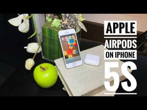 airpods на iphone 5s