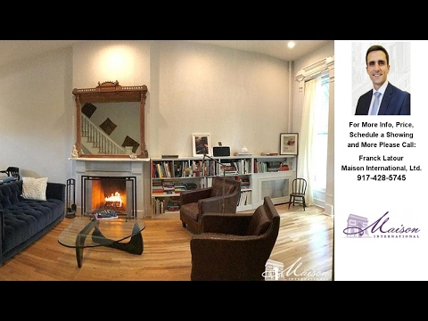 12 Arlington Place, Brooklyn, NY Presented by Franck Latour.