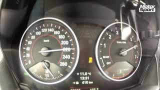 BMW M 135i : 0-260 km/h (Motorsport)