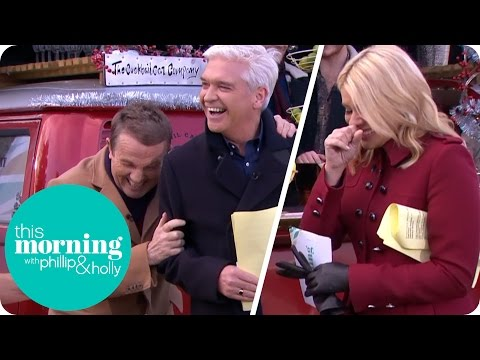 Bradley Walsh Causes Hysterics on the South Bank | This Morning