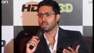 Abhishek Bachchan launches Videocon D2H 3D