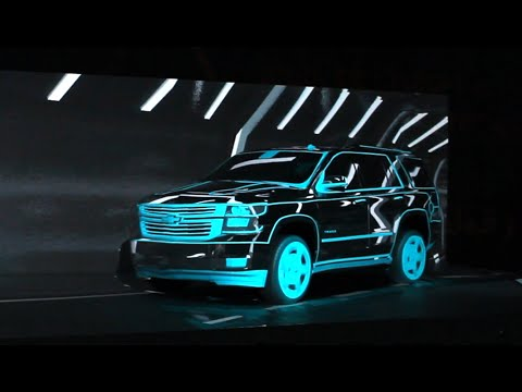 Chevrolet Tahoe Launch, Saudi Arabia, 2014 - Freelusion Videomapping Studio