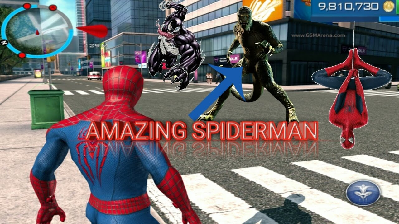 the amazing spiderman 2 | modded apk | unlimited coins | works on