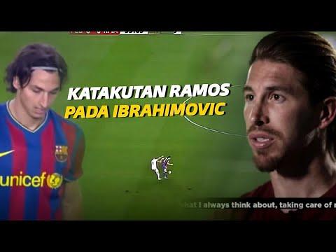 """""""Ketakutan Mendengar Nama IBRA"""" Inilah Hari Dimana Ramos Dipermalukan Lord Zlatan Ibrahimovic"""