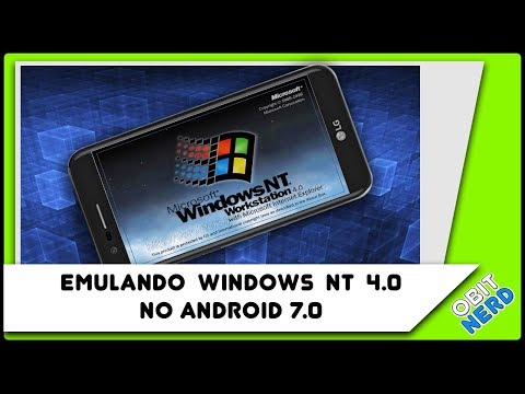 Emulando Windows NT 4.0 no Android 7.0