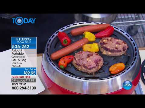 HSN | HSN Today: Labor Day Grilling featuring AirLight 08.21.2017 - 07 AM