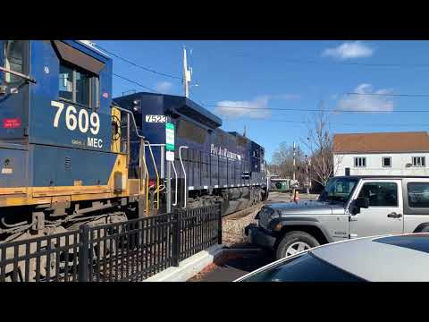PanAm Freight Northbound Through Dover, NH