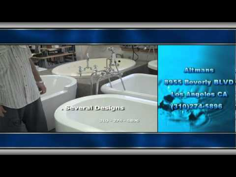 Altman Bathroom Fixtures Los Angeles Ca Altmans Tubs Youtube