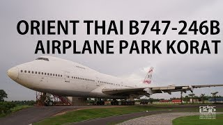 ORIENT THAI B747-200 at AIRPLA…
