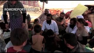 Iraqi Families, children cross the desert to find refuge in Kurdistan | World