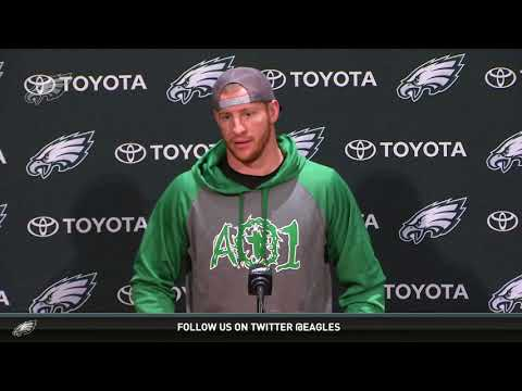 Press Conference: Carson Wentz (11/29/17)