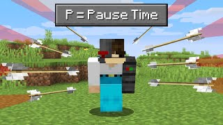 Minecraft but you cąn CONTROL time...