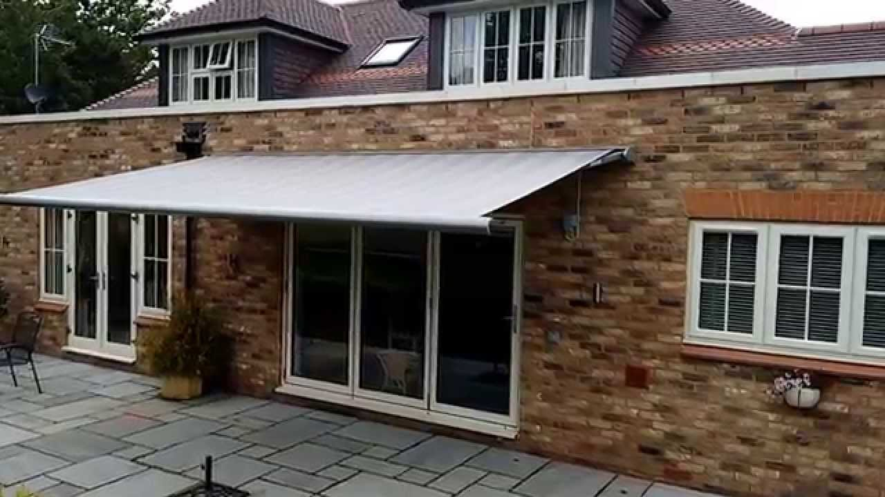 Electric Awning | Premier Blinds & Awnings 01372 377 112 ...