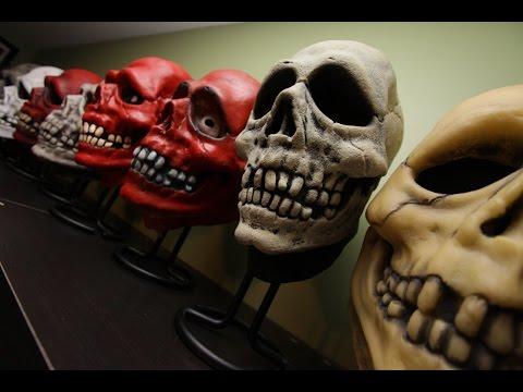 History & Info On The Vinyl Don Post Skull Mask
