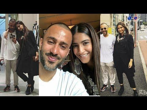 Sonam Kapoor and Anand Ahuja personal honeymoon pics in Tokyo ❤ Mp3