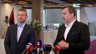 Naživo: Pellegrini sa stretáva s Dankom v parlamente