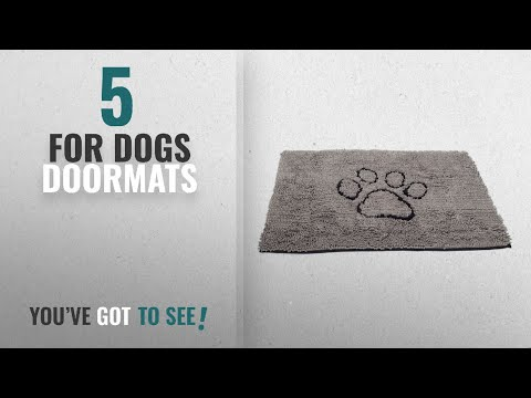 Top 10 For Dogs Doormats [2018 ]: Dog Gone Smart Dirty Dog Doormat, Large, Grey