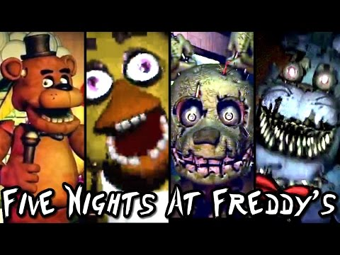 Five Nights at Freddys ALL TRAILERS & Teaser Images (1 to 4)