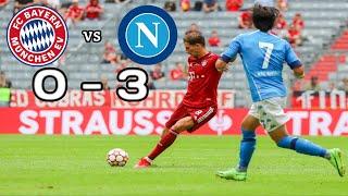 Bayern Munich vs Napoli Highlight All Goals
