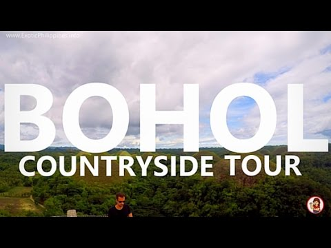 Bohol Countryside Day Tour 2016 - G Vlogs #32