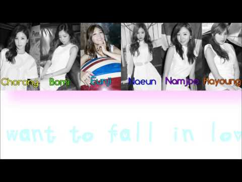 Apink What A Boy Wants Lyric (Romanization + English) Color Coded