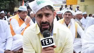 Rajendra Yadav, Rresident of Garhi Chaukhandi Village   Shares the demands of the Farmers   Ten News