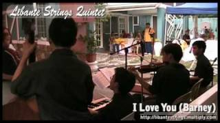 I Love You (Barney) cover by Libante Strings