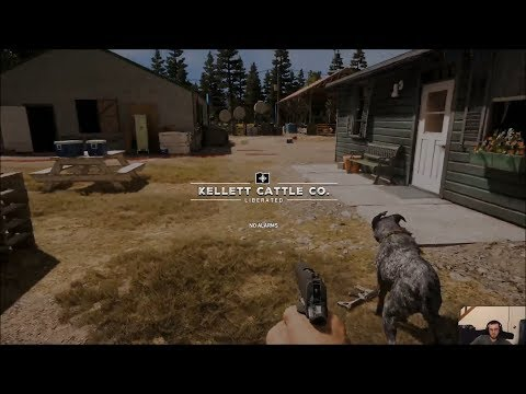 far cry 5 - 0 - FYIG Plays Far Cry 5 Part 3 & 4 – Death by Bull & Stealing a Plane