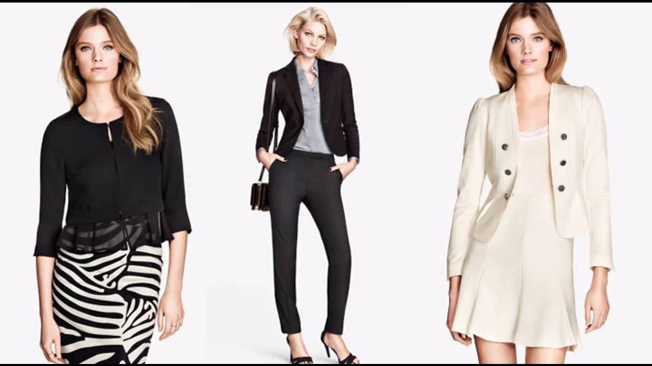 Moda tendencias 2017 ropa de moda para oficina youtube for Trajes para oficina