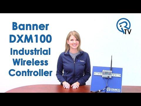 Banner DXM100 Industrial Wireless Controller