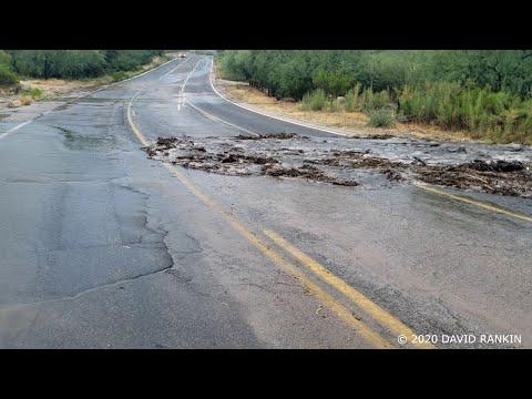 Tucson Flash Flood / Debris Flow - Bighorn Fire Scar
