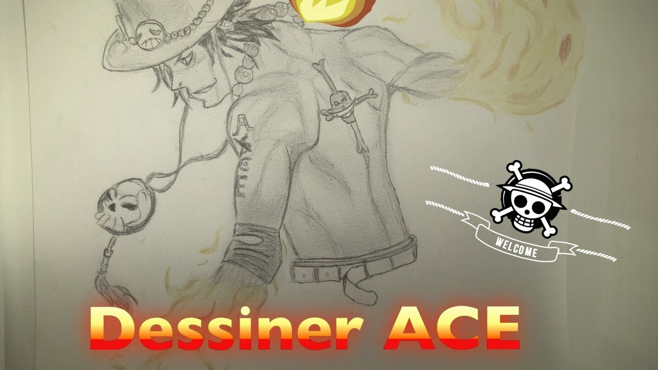 Dessiner Ace One Piece Youtube