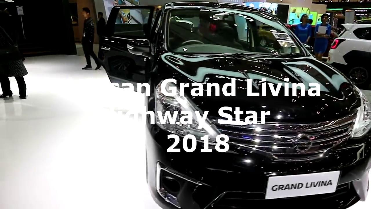 Nissan Grand Livina Highway Star 2018 Black Colour Exterior And