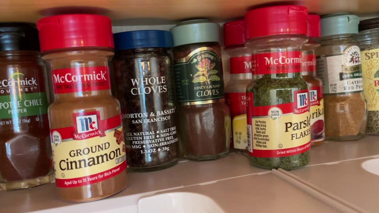 Alphabetizing my Spices! (And my hair... again!)