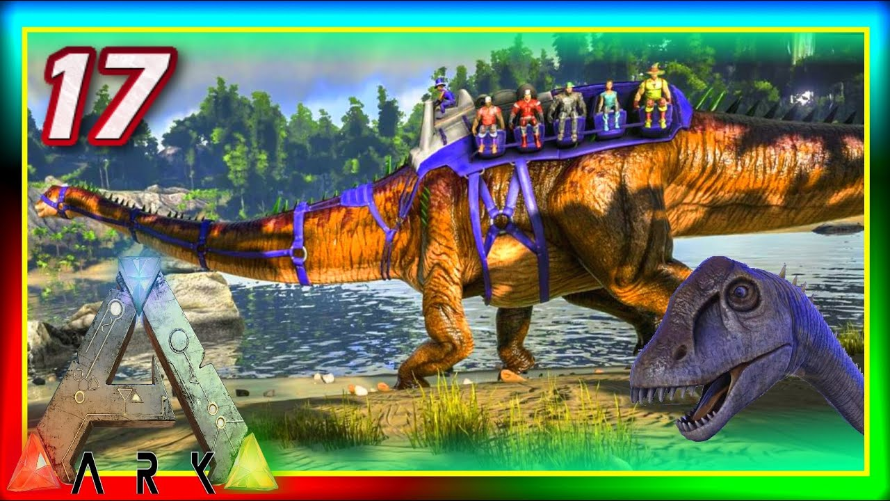 ARK: Valhalla #17 - DIPLODOCUS TAMING & LEECHES (Modded ...
