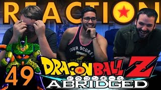 TFS DragonBall Z Abridged REACTION!! Episode 49