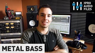 Tips for Mixing Metal Bass Guitar