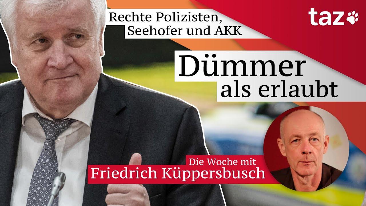 Dummer Als Erlaubt Der Taz Wochenruckblick Mit Friedrich Kuppersbusch Youtube